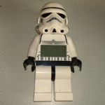 Lego Star Wars Stormtrooper Alarm clock big minifigure
